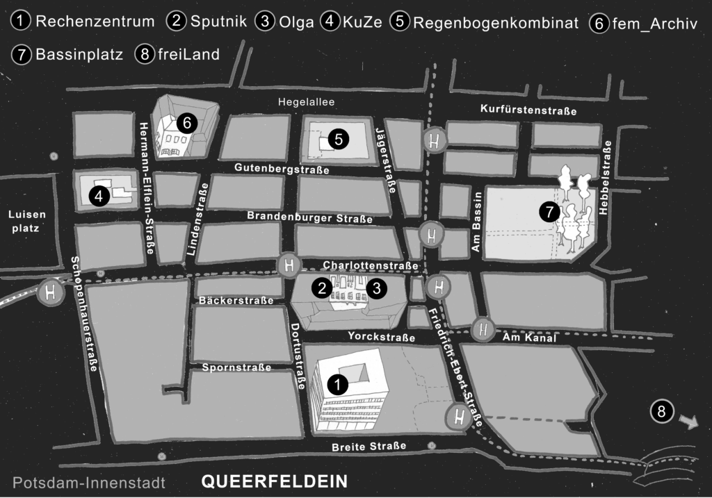 Stadtpla Potsdam Innenstadt